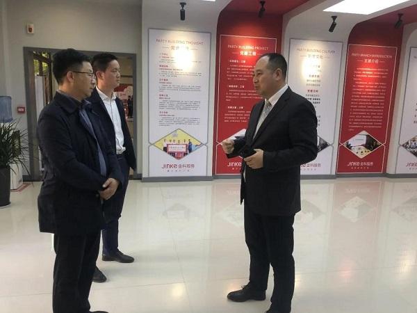 程鸿光深入郑州市中牟县走访新的社会阶层人士