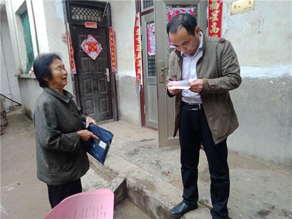 唐河昝岗乡:开宣讲 勤走访 教育扶贫在路上