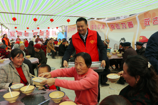 吃饺子、领红包,周口太康老冢千余名老人乐过重阳节