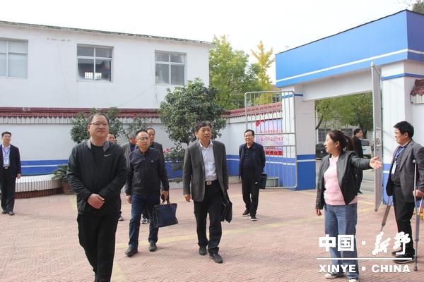 河南省司法厅到新野调研星级司法所创建工作