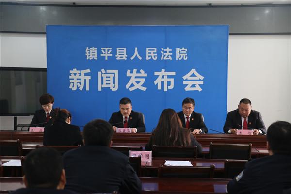 镇平县法院召开执行工作新闻发布会