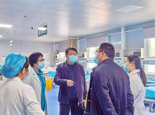 南阳市卫健委专家组对唐河县人民医院妇幼健康服务能力标准化建设工作进行市级复核