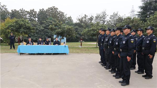 """南阳市宛城区法院:法警大队开展""""实战化训练演练""""活动"""