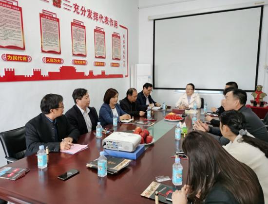 河南省企业家学院、驻马店企业家学院领导共同考察三秋醋业