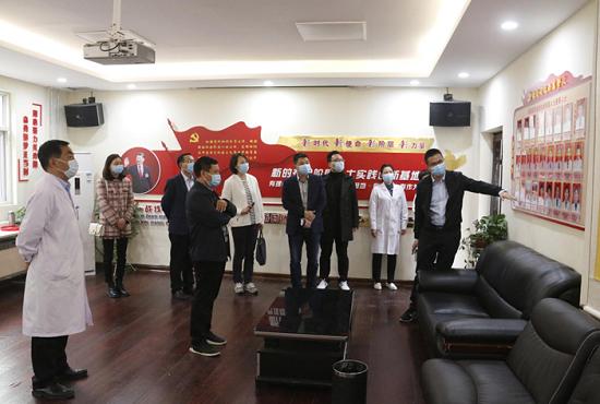 郑州市委统战部调研组调研巩义新阶层实践创新基地项目建设情况