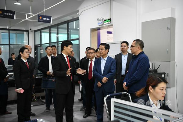 河南省高级人民法院党组书记、院长胡道才到南阳调研工作
