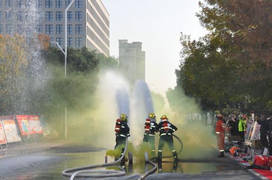 """巩义市隆重举行2020年""""119消防宣传月""""""""启动仪式"""