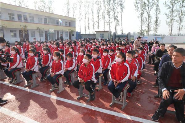 河南省宋庆龄基金会东方今典爱心学校授牌仪式在南阳市宛城区举行