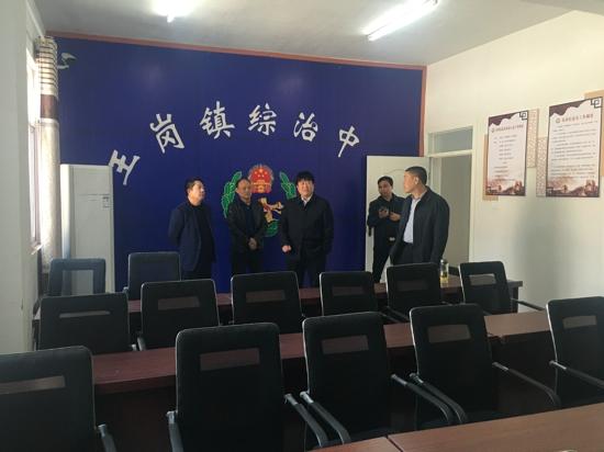 汝南县王岗镇深入开展平安建设工作