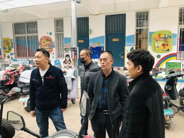 郑州市管城区南关小学:迎接安全检查 筑牢安全防线