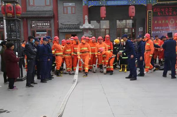 """南阳各地政府纷纷举行""""119""""消防宣传月活动启动仪式"""