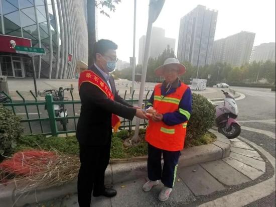 郑州银行公益早餐,用爱心为城市升温