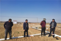 社旗县领导深入饶良镇督导产业基地建设情况
