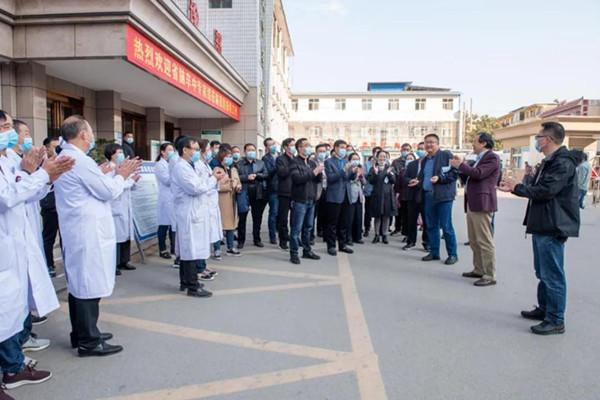 河南省脑卒中专家组对唐河县人民医院卒中防治中心进行现场指导评价