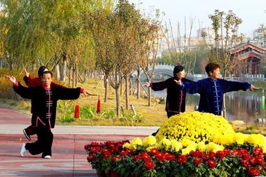 河南开封:水韵古城生态美