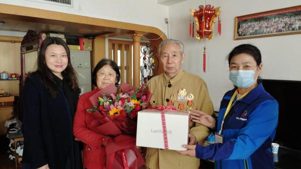 致敬最可爱的人!郑州市花园路街道为抗美援朝出国作战老兵送健康送温暖