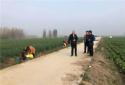 社旗县副县级领导李贺峰到饶良镇督导蔬菜基地建设