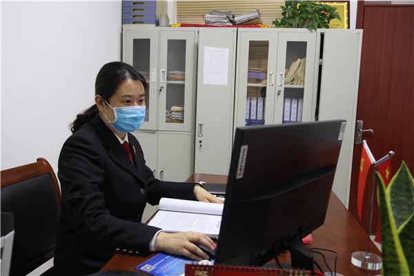 """【法院风采】姚林娟:诉讼服务工作的""""领头雁"""""""