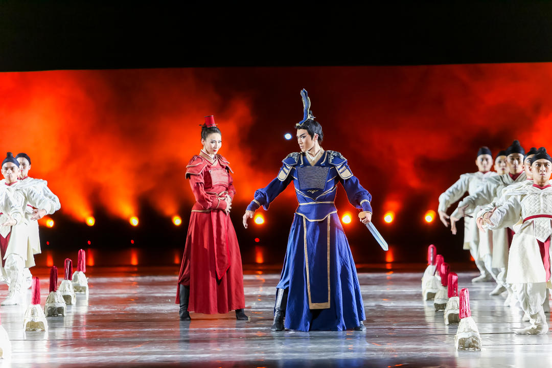 民族舞剧《花木兰》在国家大剧院上演