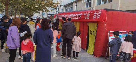 郑州市南阳路街道晖达社区:挂图作战,全方位打造网格化减灾新模式