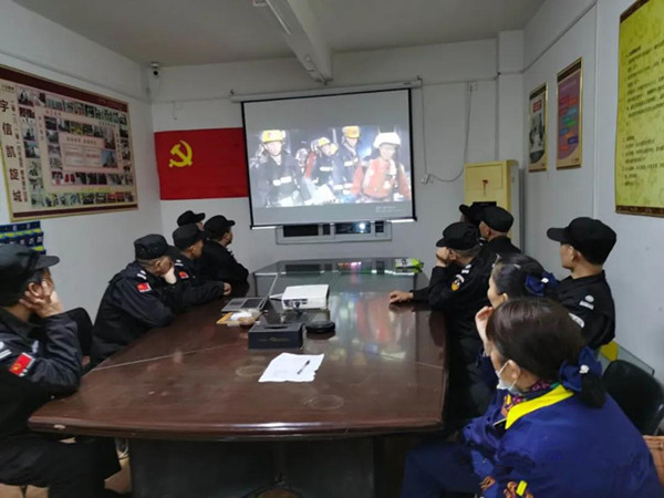 """南阳市1.1万余名员工同步收看""""消防培训进企业""""公开课直播"""