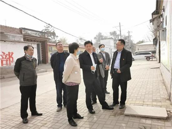 濮阳市委统战部长黄旭东到南乐县调研脱贫攻坚、民族进步团结创建等有关工作