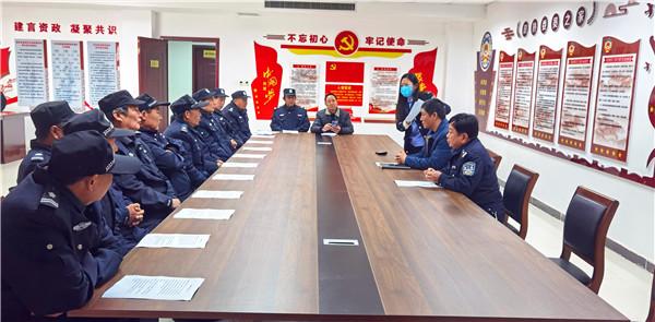社旗县法院:夯实司法警察业务能力保障审判执行工作