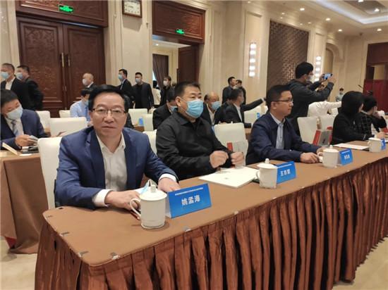 河南省江苏商会受邀参加河南省党政代表团与江苏省知名企业家见面会