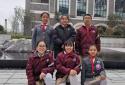 外国语小学出彩少年荣获郑州高新区第六届汉字大赛第二名!