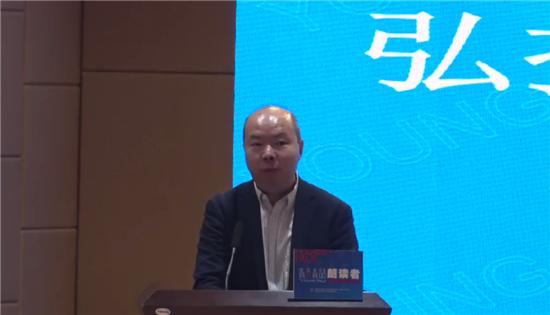 """""""青言青语""""朗读者活动走进河南警察学院"""
