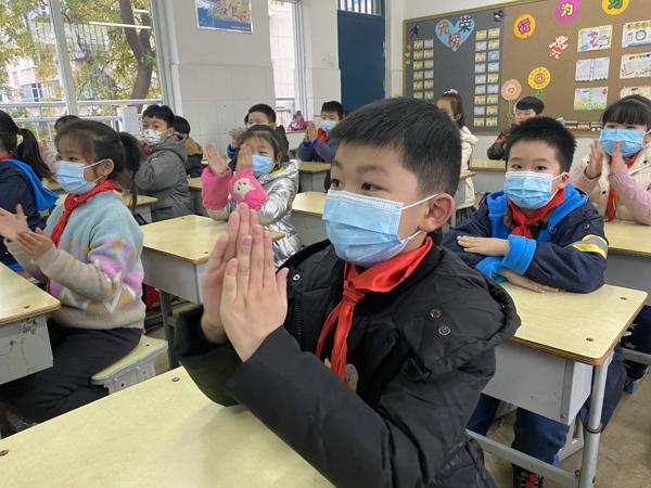 郑州市管城区南关小学开展榜样主题教育中队会