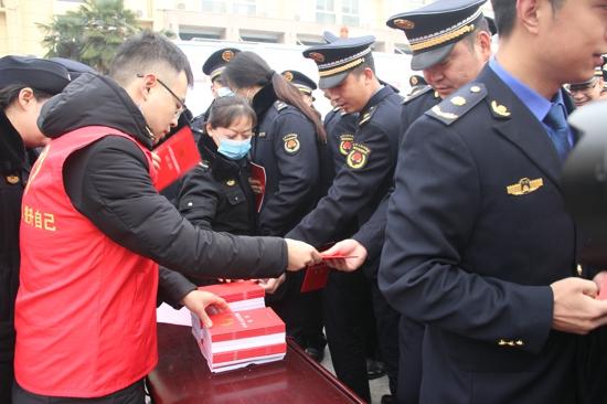 驻马店市驿城区举行第三个国家宪法宣传周启动仪式