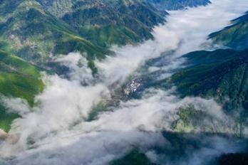 武夷黄岗山:云雾缭绕 美若仙境