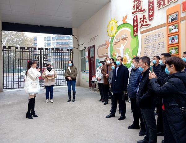 郑州二七区京广路小学迎来河南省中小学教师工坊混合式观摩学习团
