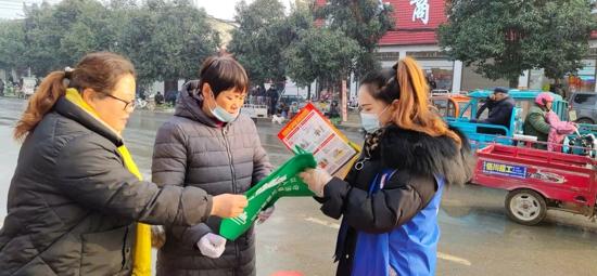 """汝南县罗店镇开展""""12.4""""全国法制宣传日普法宣传活动"""