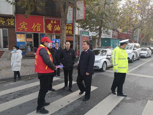 """南乐检察院举办""""公益诉讼、案件听证、交通违法""""新闻发布会"""