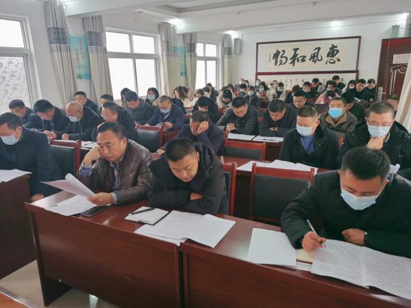 冬季安全弦时刻不放松,周口太康县民政局召开安全生产工作推进会