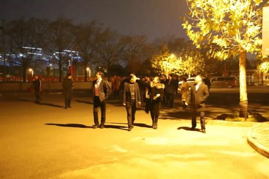 河南省民营经济发展服务中心专家服务团走进河南枫叶国际学校参观交流