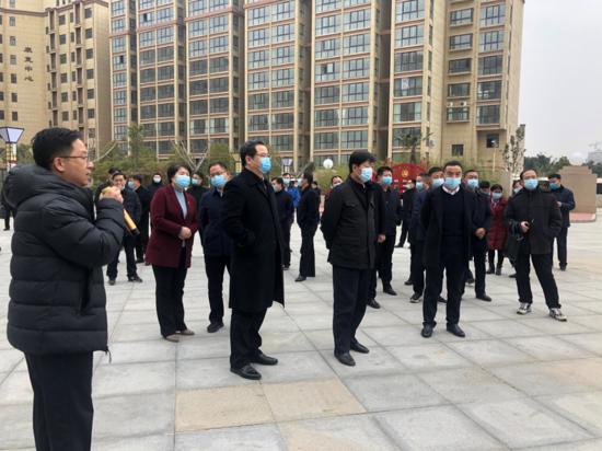 郑州市领导一行调研中牟县新的社会阶层人士统战工作