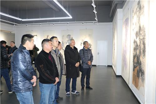 水墨之境一一孙翰林书画作品展在郑州市青少年宫展厅开幕