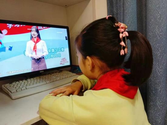 郑州市紫东路小学:红领巾相约2035 争做新时代好队员