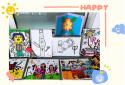营造艺术氛围 金水区新柳路小学开展美术学科过程性评价活动