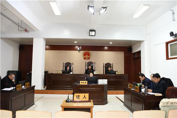唐河县法院:行政机关负责人出庭应诉 促进法治政府建设