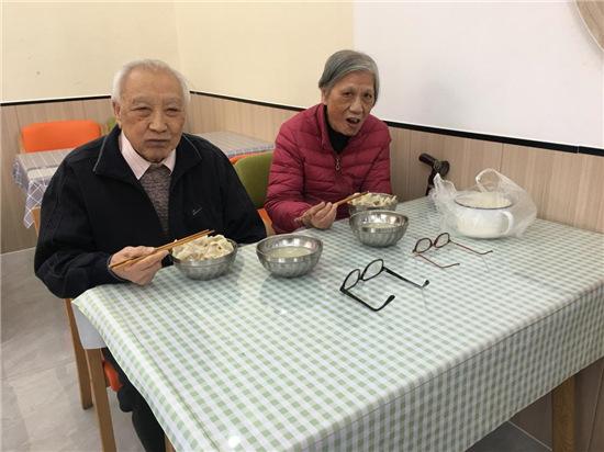 敬老·孝老文化传承——情暖冬至饺子宴
