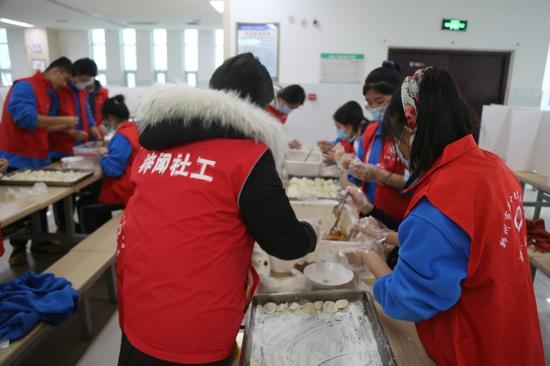 郑州市第十九高级中学:回归传统节日,感受温暖冬至