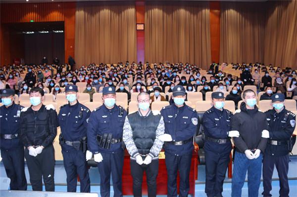 南阳宛城法院刑事审判庭:严厉打击犯罪 维护社会稳定