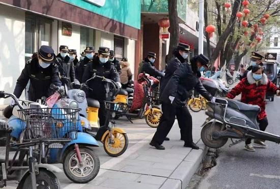 正阳县城管局女子中队:柔性执法让城管更有温度