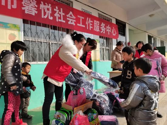 河南嵩县:汇集爱心 传递温暖