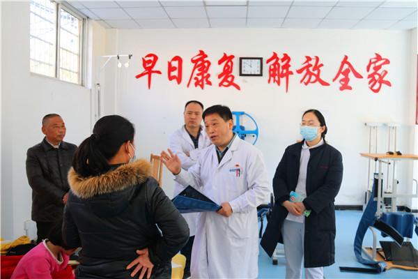 南阳市中心医院到新野县上庄乡卫生院开展年终义诊活动:三级联动保障乡镇居民健康