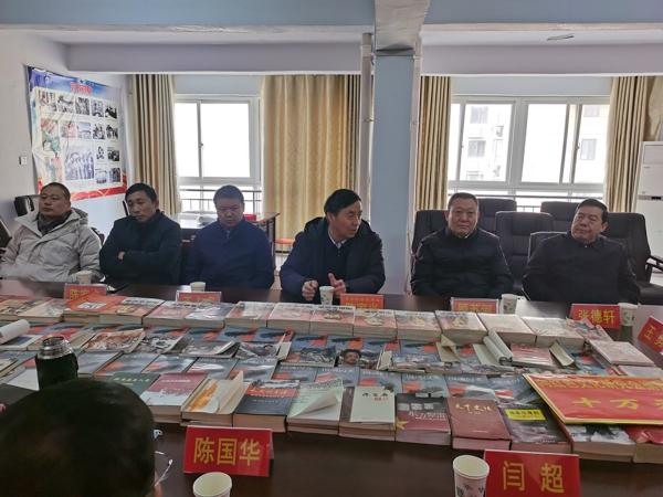 大爱无疆——河南省青龙管业公司向驻马店市红色文化研究会捐款